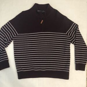 Lands End half zip pullover Sz L